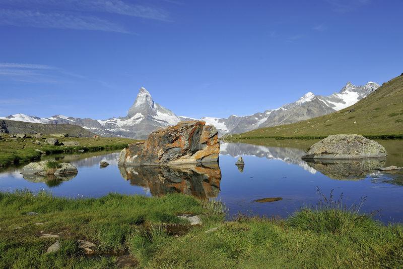 Stellisee Zermatt Switzerland