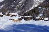 Die Bergrestaurants von Blatten liegen direkt an der Skipiste.