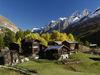 Hameau de Zum See, près de Zermatt