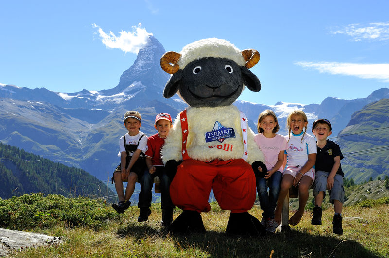 Wolli visits the Leisee lake above Zermatt now and again – especially in glorious weather, as on this photo.