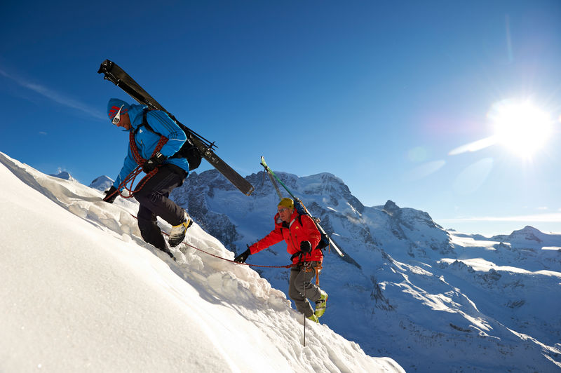 Mixed ascents with a Zermatt mountain guide  climbing on snow and ice and  over rock ... a7a12d676