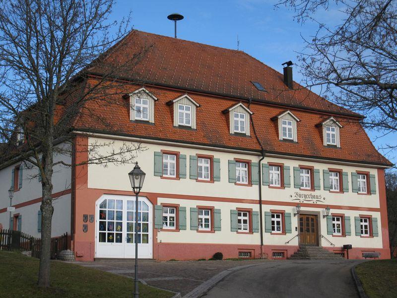Bürgerhaus Zimmern unter der Burg