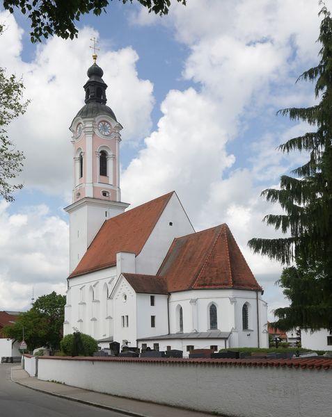 Kirche St. Johannes Baptist in Zolling