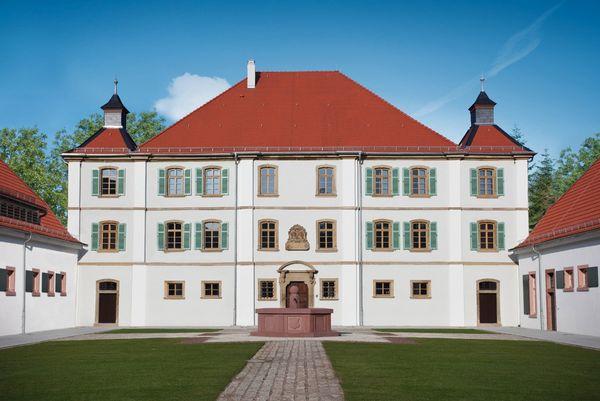 Blick auf das Schloss