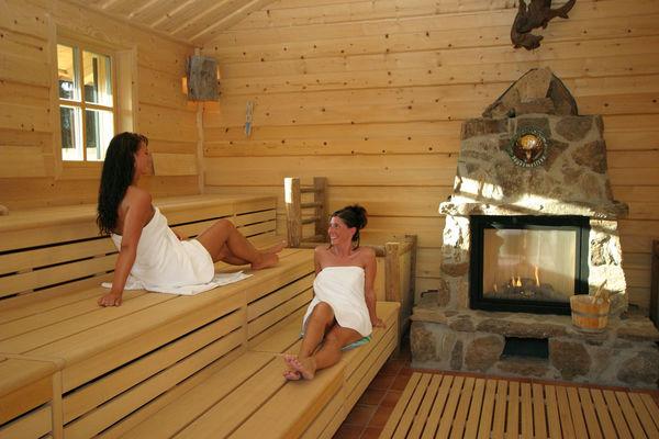 Die Hochsitz-Sauna in der Bayerwald-Sauna in Zwiesel