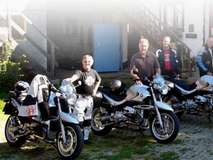 Motorrad-Gruppe bei BikeBavaria in Bärnzell bei Zwiesel