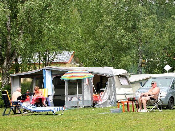 Natur pur beim Campingplatz Tröpplkeller in der Glasstadt Zwiesel