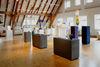 Internationale Glaskunstausstellung in der ehemaligen Mädchenschule in der Glasstadt Zwiesel