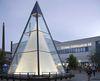 Die Glaspyramide ist das Wahrzeichen der Glasstadt Zwiesel im ArberLand Bayerischer Wald