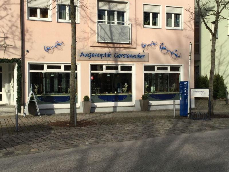 E-Bike - Ladestation Gerstenecker Augenoptik