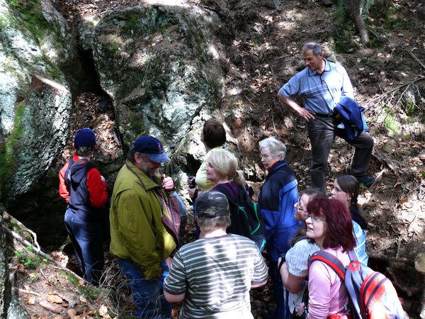 Das historische Bergwerk Rotkot