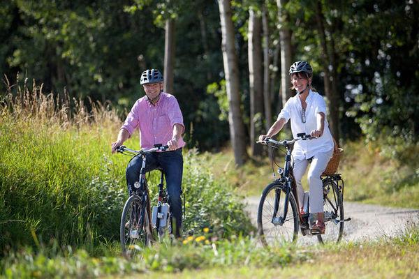 Mit dem Rad unterwegs im Nationalpark