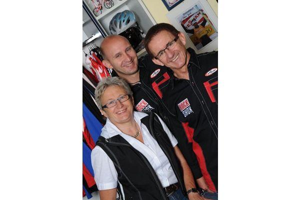 Das Team von Radsport Leitl in Zwiesel