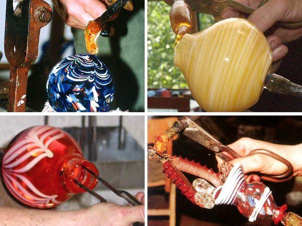 Faszinierende Glasmuster aus der Rotwaldglashütte in Zwiesel