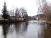 Der Schwarze Regen in der Glasstadt Zwiesel nach seiner Entstehung