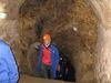 Besucher beim Aufstieg aus den Unterirdischen Gängen in Zwiesel