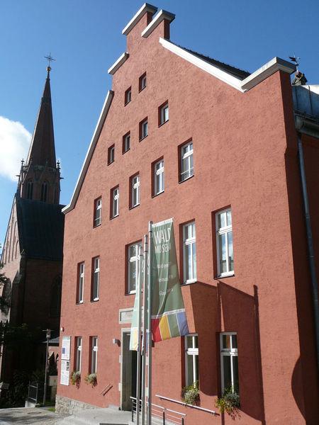 Aussenansicht des Waldmuseums Zwiesel