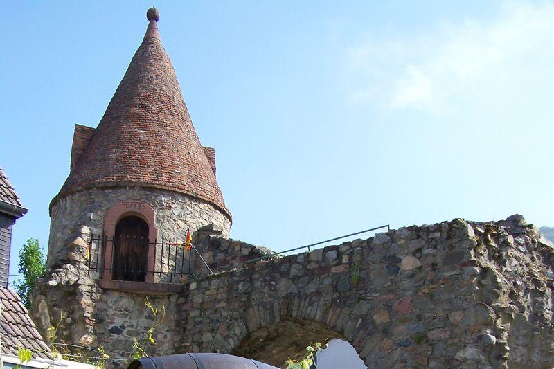 Aul mit Stadtmauer